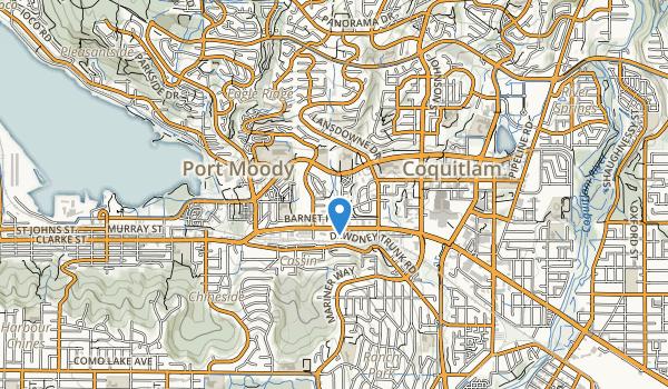 Bramble Park & Eagle Mountain Hydro Map
