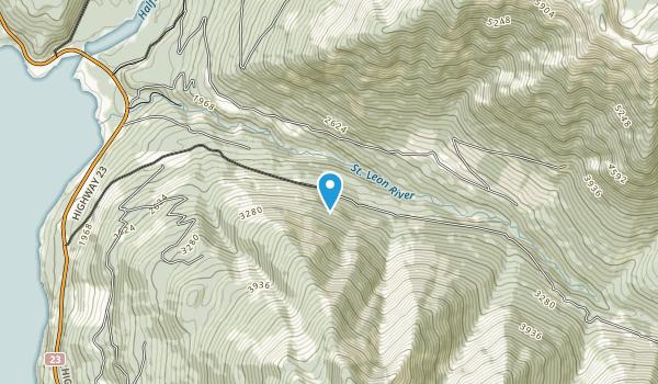 Lardeau Range Map