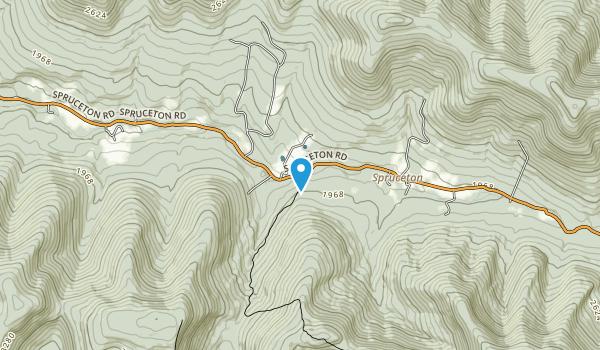 West Kill Wilderness Area Map