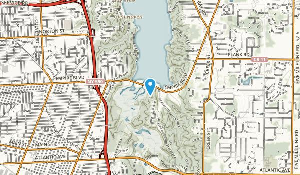 Lucien Morin Park Map