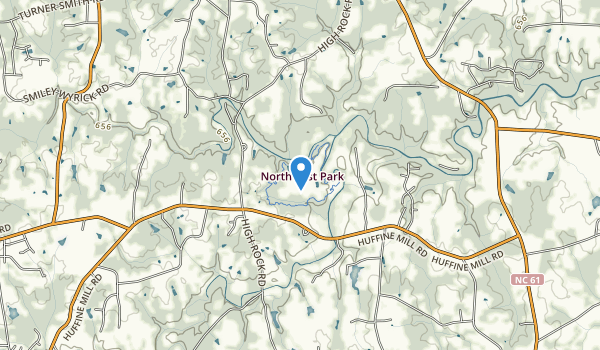 Northeast Park  Map