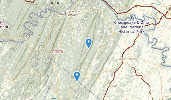 Sleep Creek WMA Map