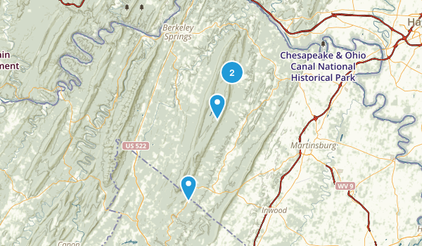 Sleep Creek WMA Map