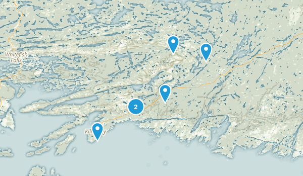 Killarney Provincial Park, ON Map