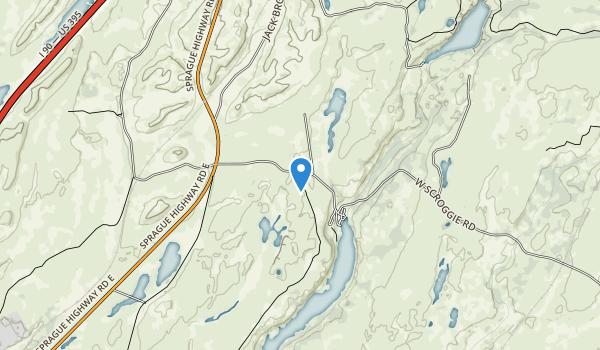 trail locations for Fishtrap Recreation Area
