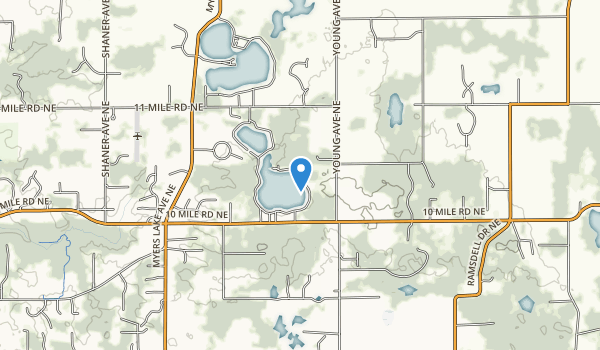 Brower Lake Nature Preserve Map