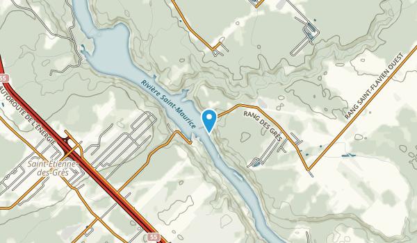 Parc du Barrage La Gabelle Map
