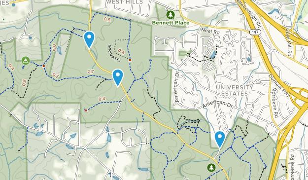 Duke Forest Map