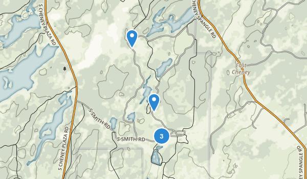 Turnbull National Wildlife Refuge Map