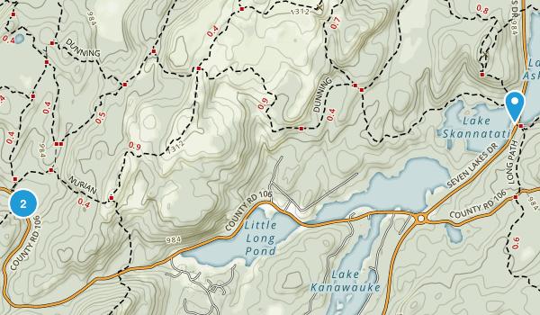 Palisades Interstate Park Map