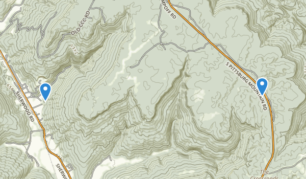 Franklin State Forest  Map