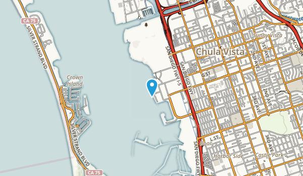 San Diego Bay National Wildlife Refuge Map