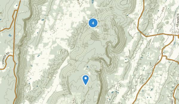 Crockford-Pigeon Mountain Wildlife Management Area Map