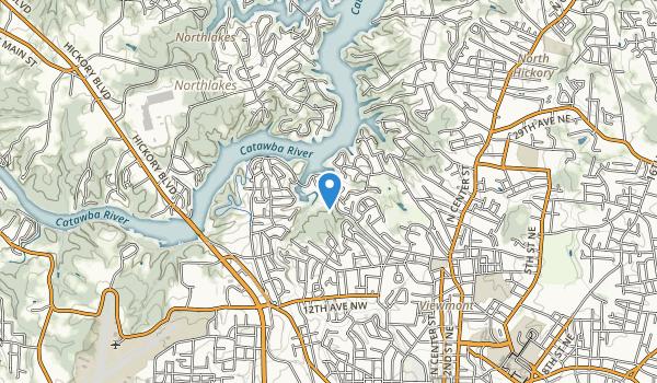 Glen C. Hilton Jr., Memorial Park Map