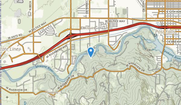 Corbin Park Map