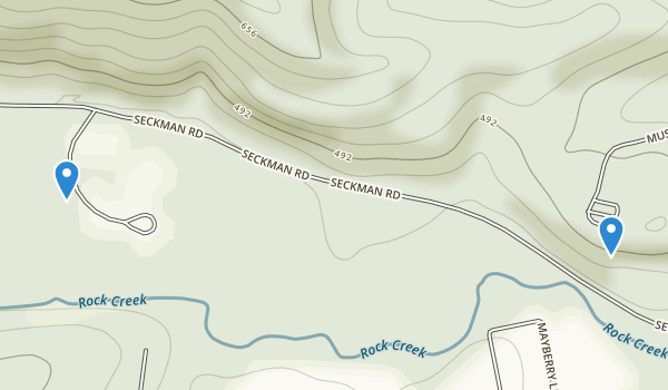 Mastodon State Park Map