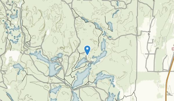 Columbia National Wildlife Refuge Map