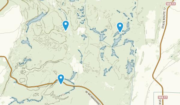 Best Trails In Columbia National Wildlife Refuge Washington - Columbia us map