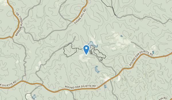 Piedmont National Wildlife Refuge Map