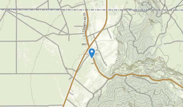 Valle Vidal Unit Map