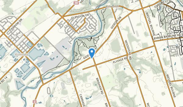 Komoka Provincial Park Map