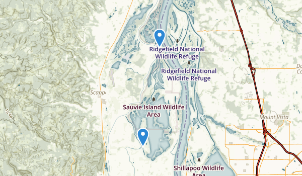 Sauvie Island Wildlife Area Map