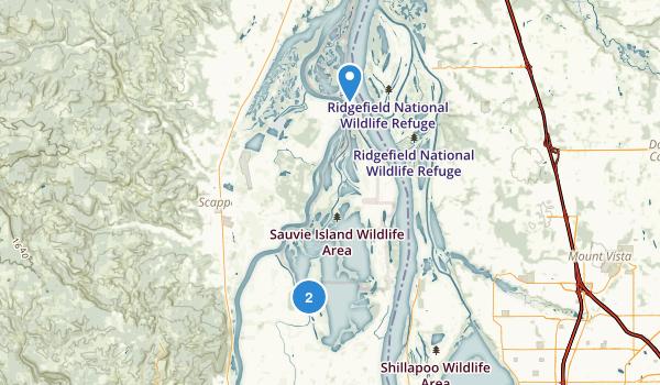 Sauvie Island Wildlife Area Map