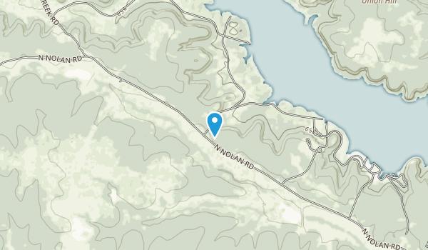 Belton Lake Outdoor Recreation Area Map