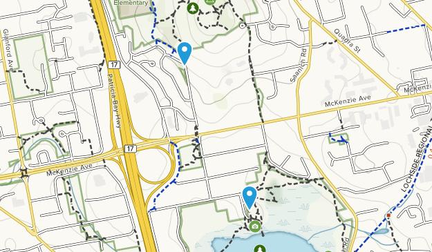 Christmas Hill Nature Sanctuary Map