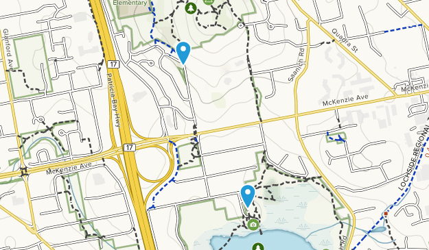 Christmas Hill Park Map.Best Trails In Christmas Hill Nature Sanctuary British
