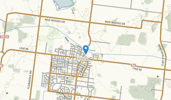 trail locations for Victoria Glen Park
