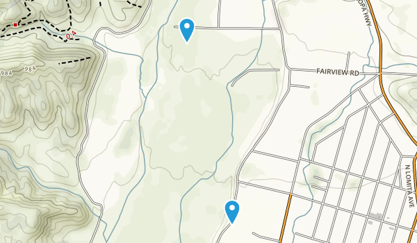 Ventura River Preserve Map