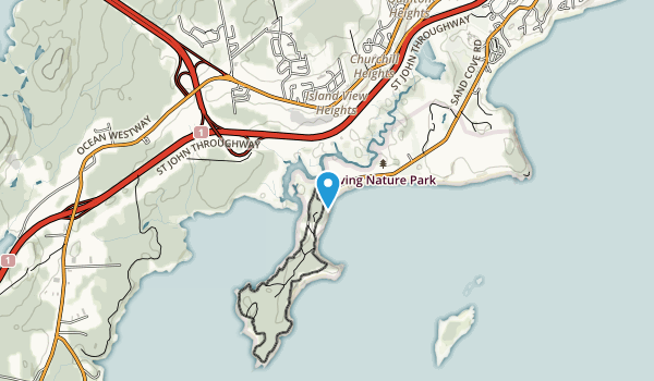 Irving Nature Park Map