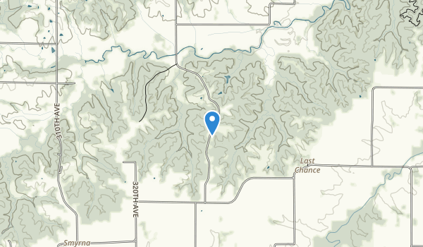 Stephens State Forest - Woodburn Unit Map