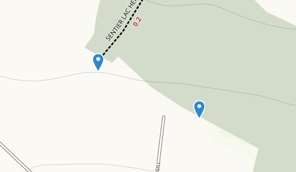 Reserve de la Biosphere du Mont-Saint Hilaire Map