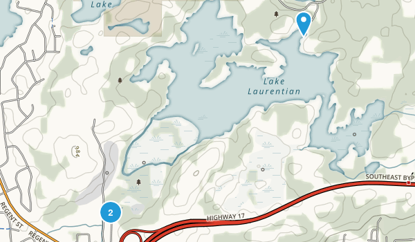 Lake Laurentian Conservation Area Map