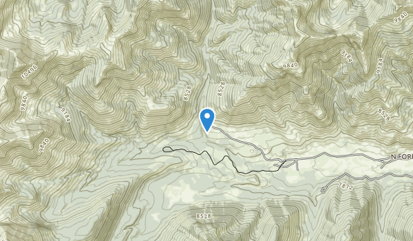 trail locations for Jim McClure-Jerry Peak Wilderness Area
