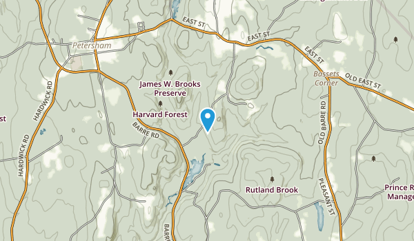 Brooks Woodland Preserve Map