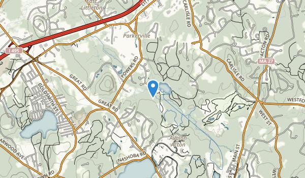Emmet Conservation Land Map