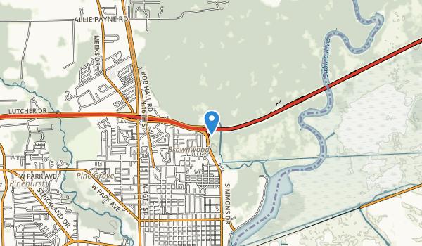 Tupelo Swamp Map