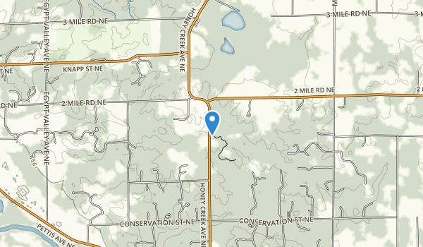 trail locations for Seidman Park
