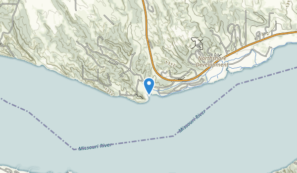 Gavins Point Recreation Area Map