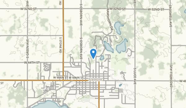 W J Branstrom Park Map