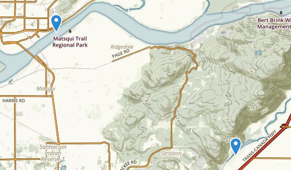 Fraser River Heritage Park Map