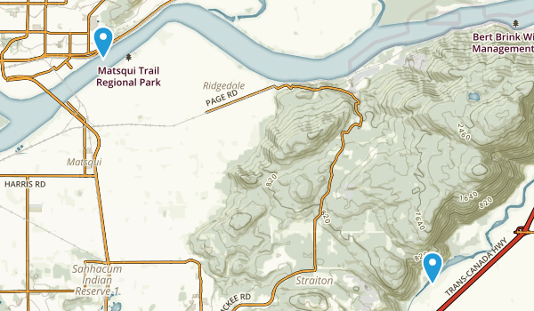 Fraser River Heritage Park Map