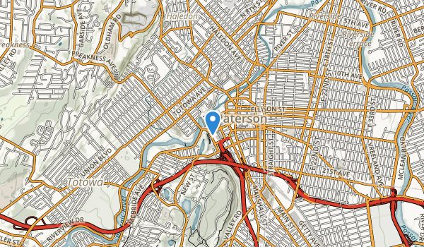 Paterson Great Falls National Historical Park Map