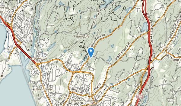 Sunny Ridge Preserve Map