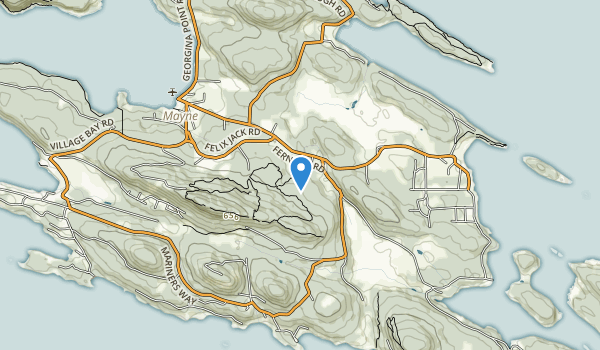 trail locations for Mount Parke Regional Park