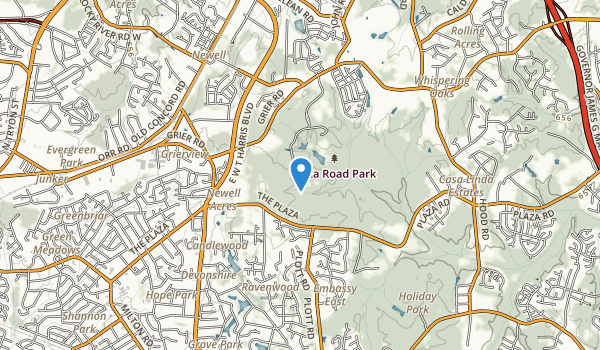 Plaza Road Park Map