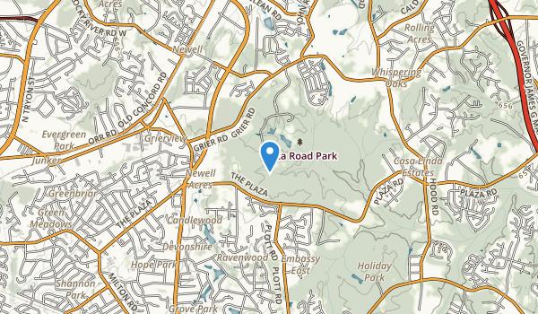 Plaza Road Park Map